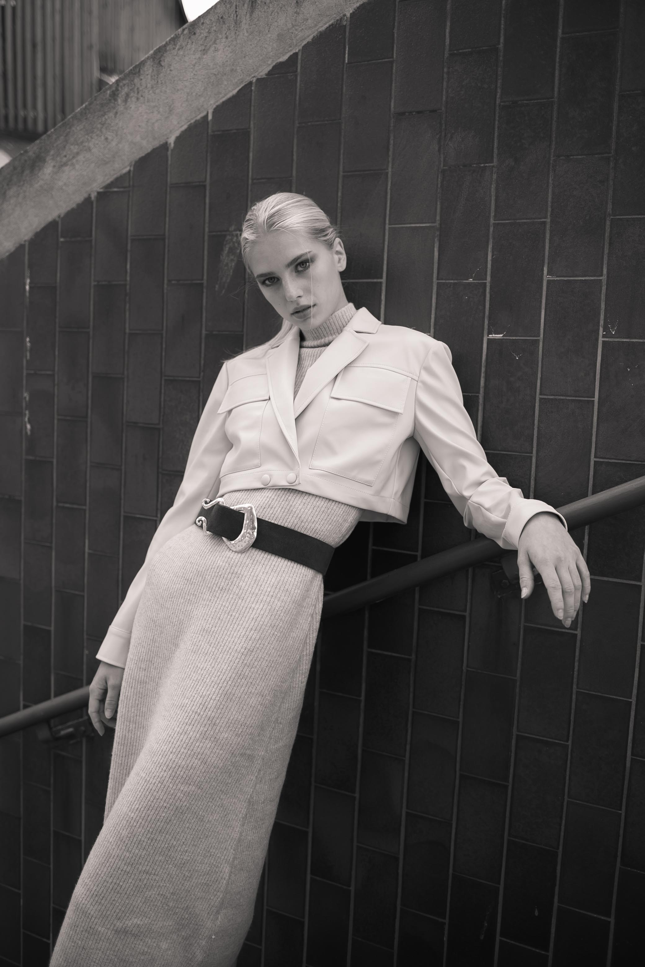 Photographe de mode rétro avec Régina