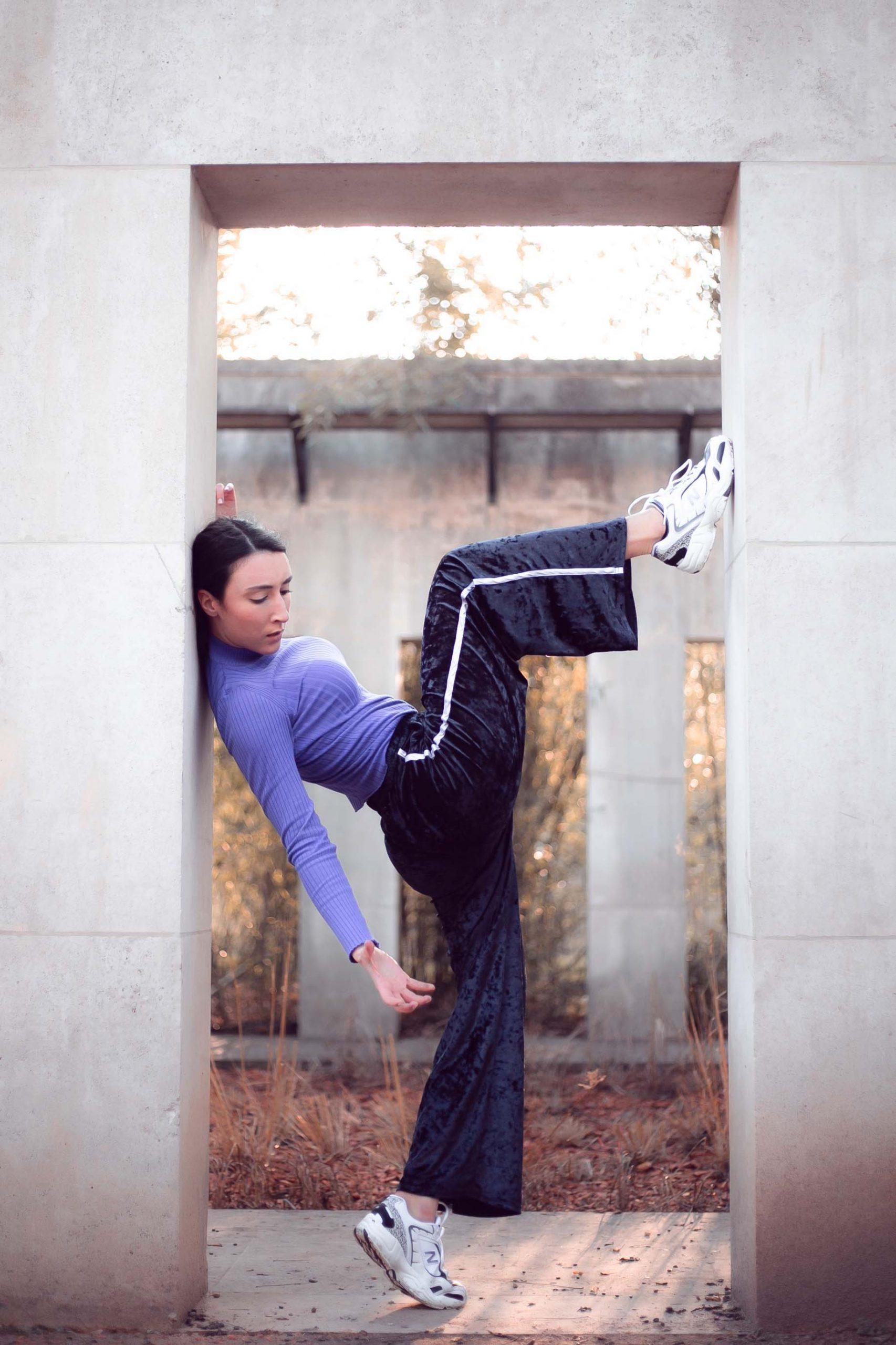 Shooting danseuse à paris Eileen