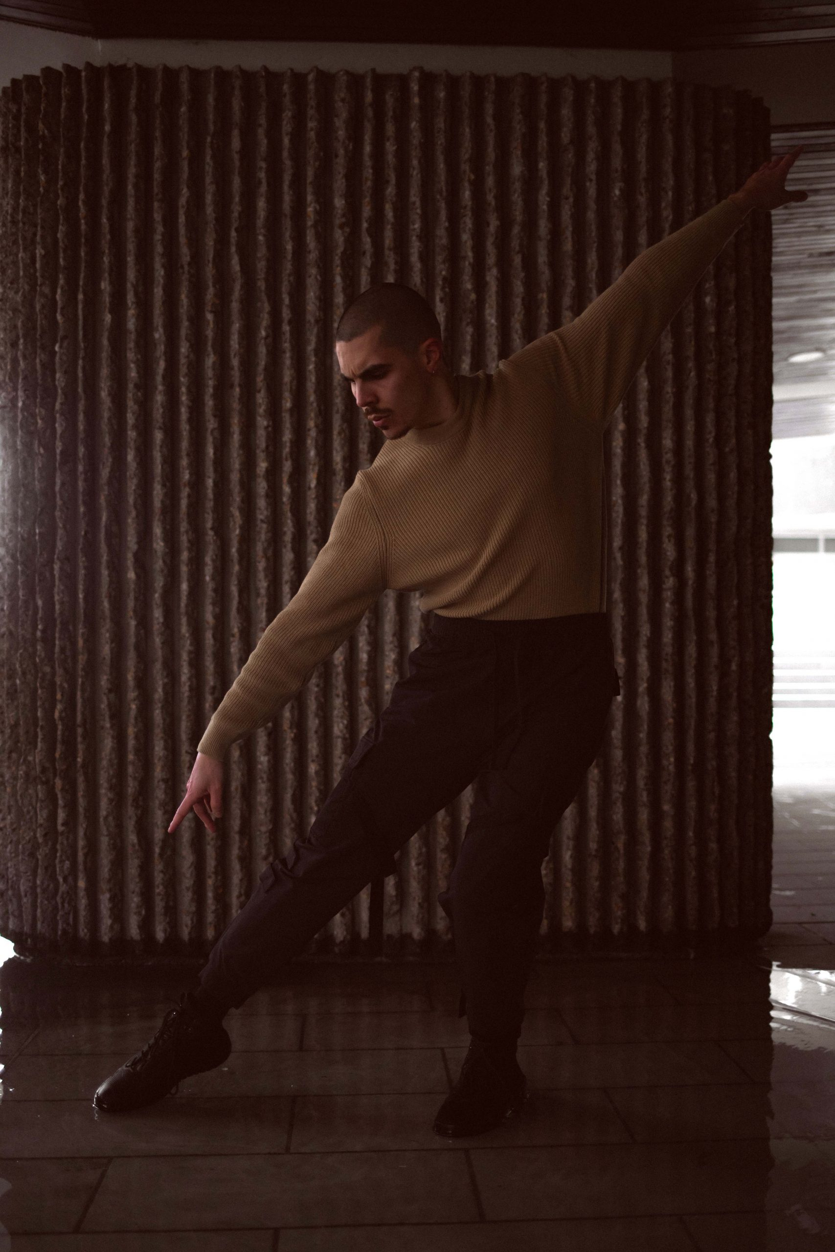 shooting photo danseur Mickael