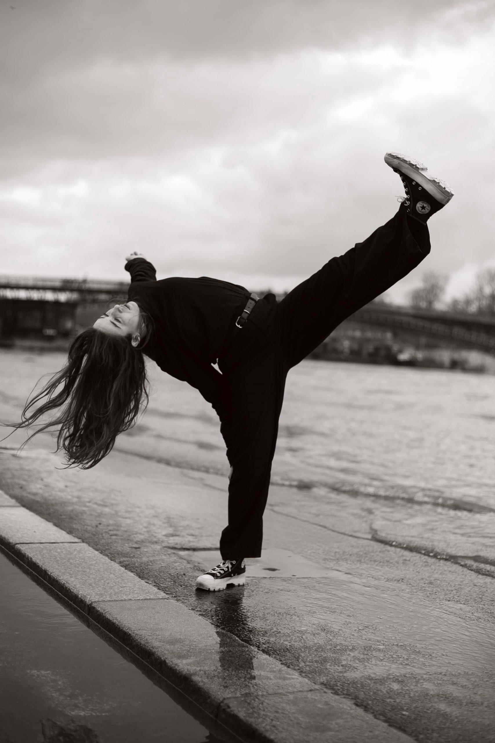 Shooting danse Katia Paris