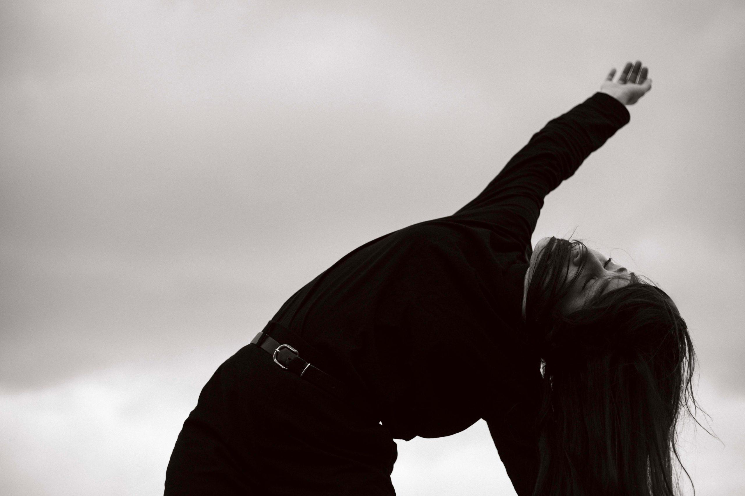 Photographe danseuse improvisation Katia