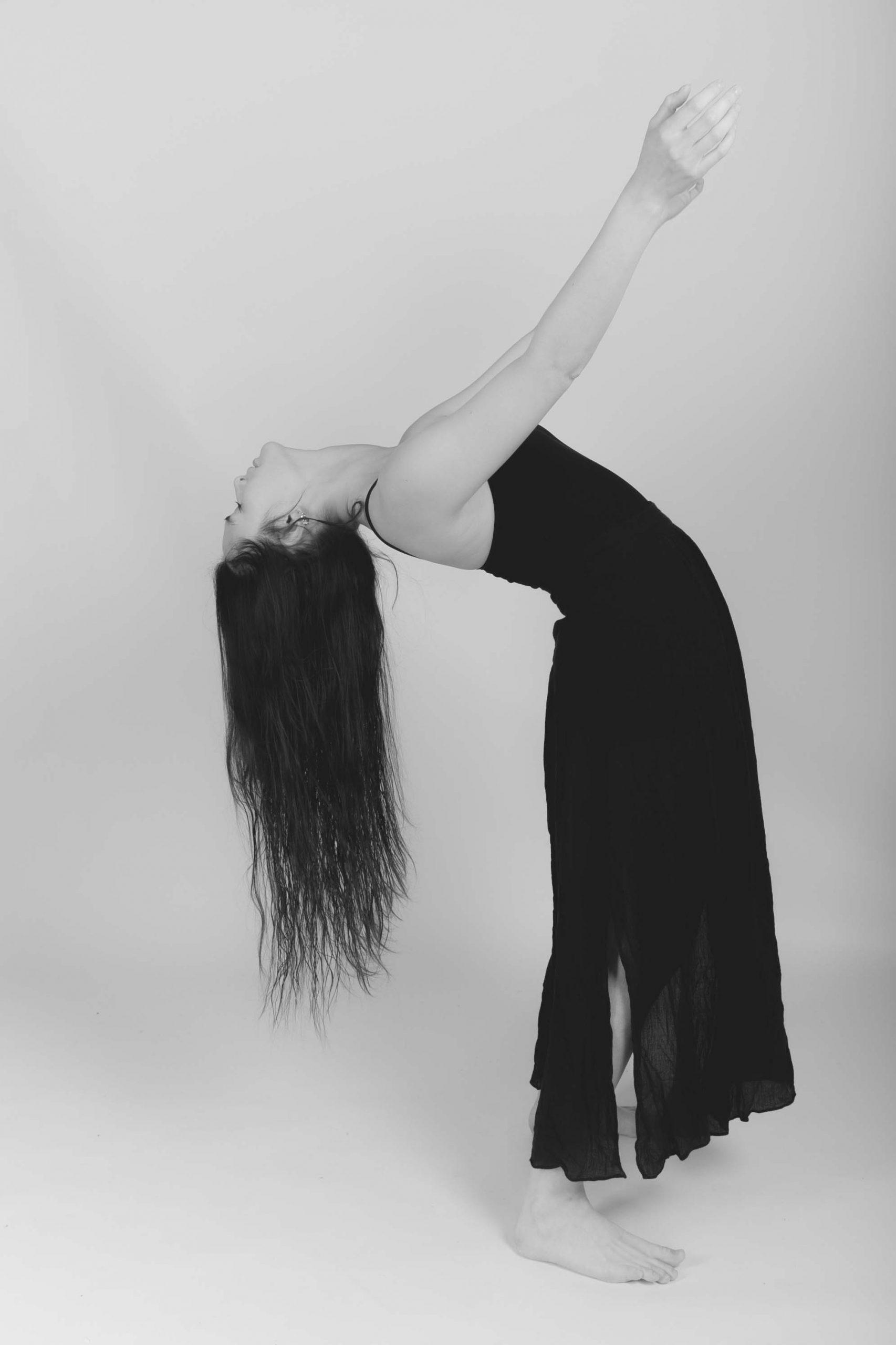 Photographie danseuse studio paris Juliette