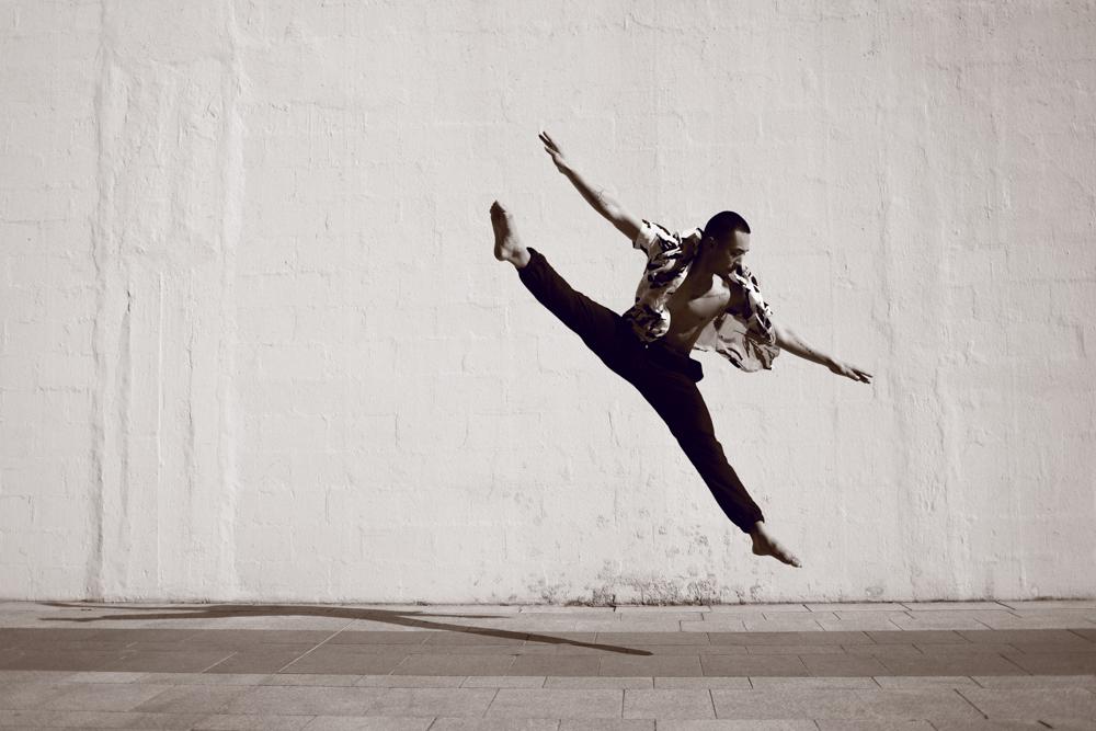 shooting danseur grand jeté