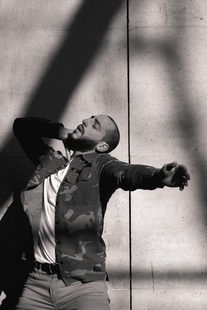 Photographie danse noir et blanc Edwing