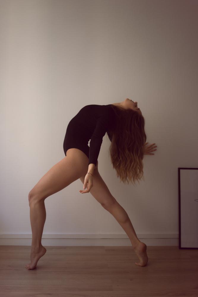 Shooting danseuse et yoga Amandine