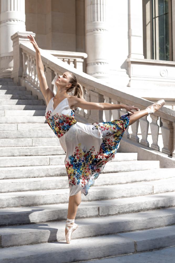 Shooting danseuse classique paris