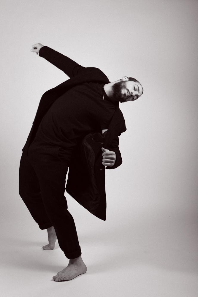 Shooting danseur studio Sami