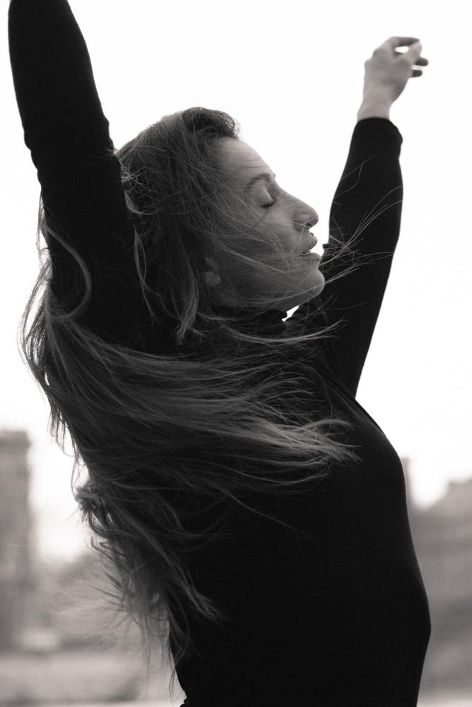 portrait danseuse paris Laure
