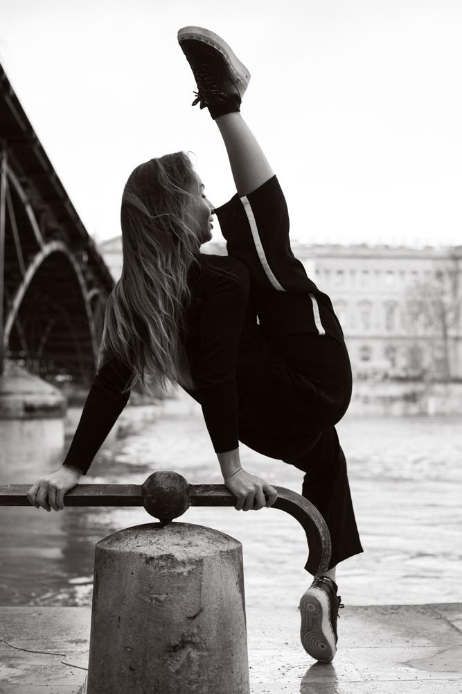 photo danseuse quai de seine