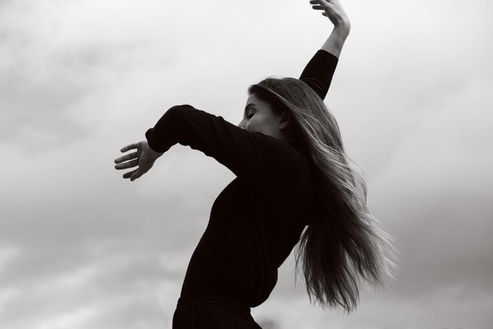 shooting danseuse en mouvement Laure